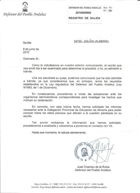 """EL """"DEFENSOR DEL PUEBLO"""" YA ESTUDIA LA SITUACIÓN EN QUE SE ENCUENTRA EL COLEGIO """"LUIS VIVES"""" (2/2)"""