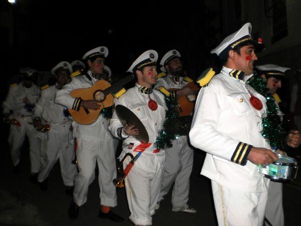 LA CARPA DEL CASINO ACOGIÓ LA ACTUACIÓN DE LAS COMPARSAS DE CARNAVAL 2011 (3/6)