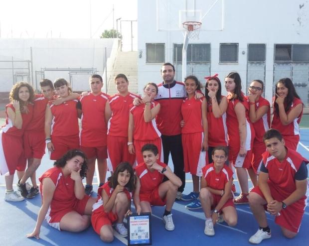 Equipo Infantil de Baloncesto de Dalías - Subcampeón Provincial