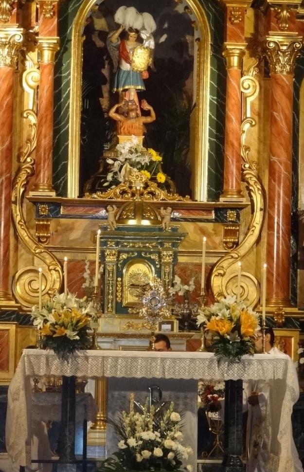 Bendición Septenario de S. Miguel. Celín