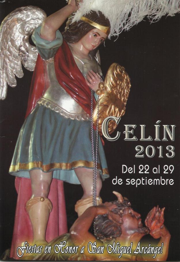 Portada del Programa de Fiestas de Celin 2013