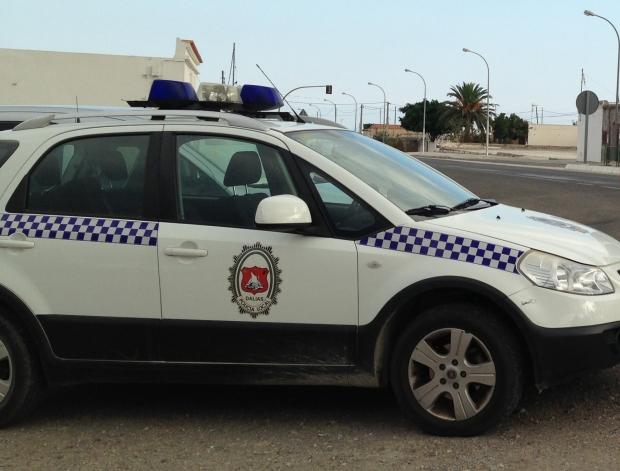 Vehículo de la policía local de Dalías (archivo)