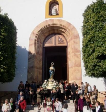 Procesión de la Inmaculada en Dalías (archivo)