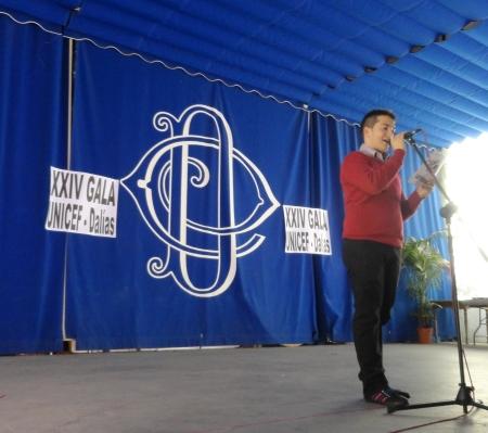 Modesto Castillo fue el presentador de la Gala