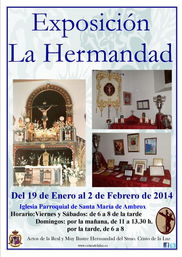 CartelExposicionLaHermandad2014
