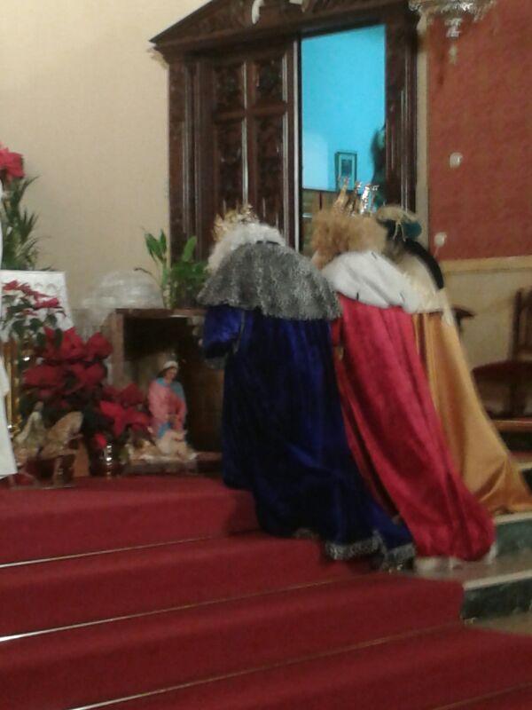 Adoración de los Reyes en Dalías