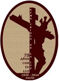Logo conmemorativo del 75 Aniversario de la llegada de la actual imagen del Santo Cristo a Dalías (1939)