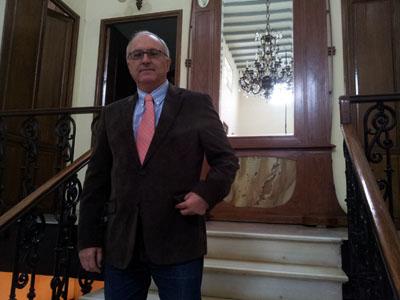 José Gabriel García Lirola, presidente del Casino