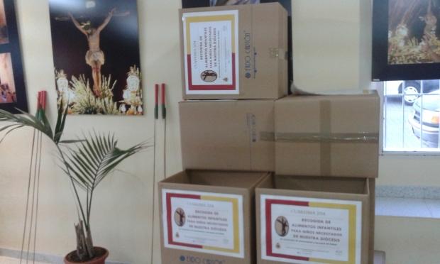 cajas donde se pueden depositar los alimentos infantiles