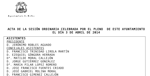 ACTA PLENO 3-4-2014