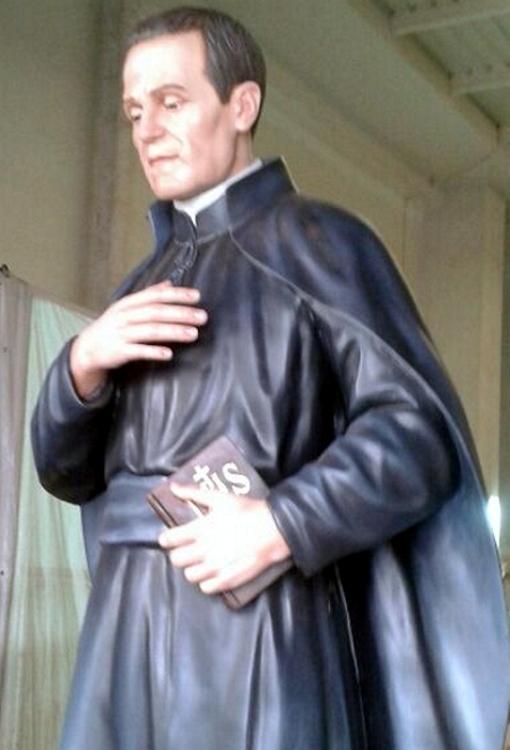 La nueva imagen del Padre Rubio será bendecida esta mañana, y procesionará por la tarde por las calles de Dalías