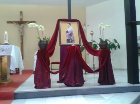 Homenaje a San José María Rubio en la parroquia de Santa María del Aguila