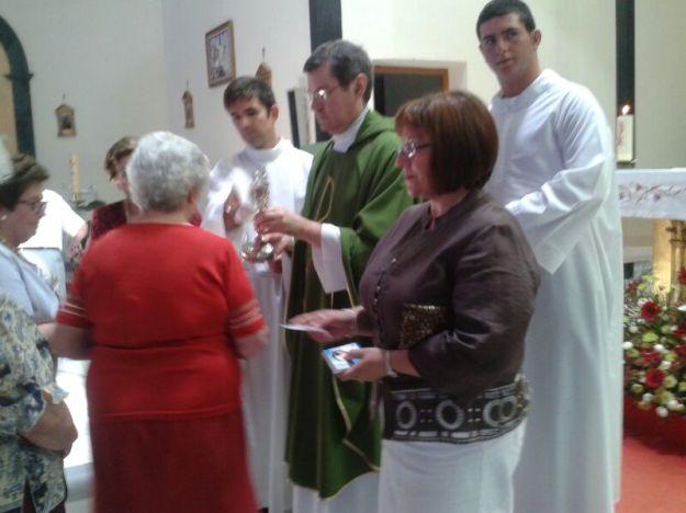 Veneración de la Reliquia en la parroquia de Santa María Del Aguila
