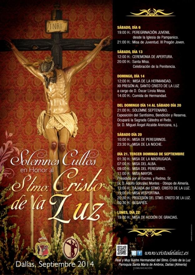 Cartel Oficial Solemnes Cultos 2014