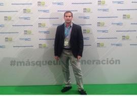 Ismael Gómez, presidente de NNGG-Dalías