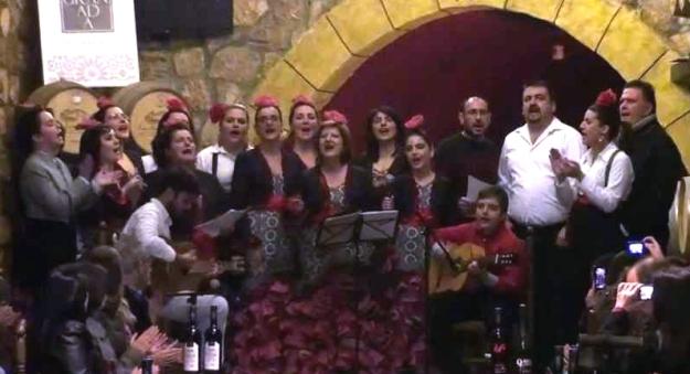 Coro Rociero Rocymar durante una actuación