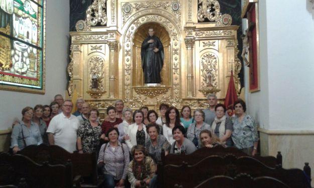 El grupo de Chinchón en la Capilla del Padre Rubio