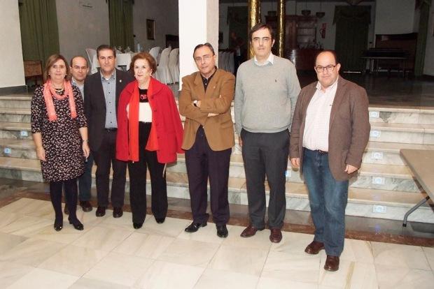 María D. Durán, José Gabriel Lirola, Gabriel Lirola, Trini Callejón, Antonio Marín, Carlos Villoria y Francisco Lirola.