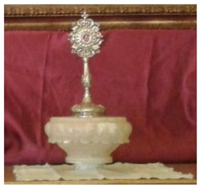 Reliquia del Santo Padre Rubio
