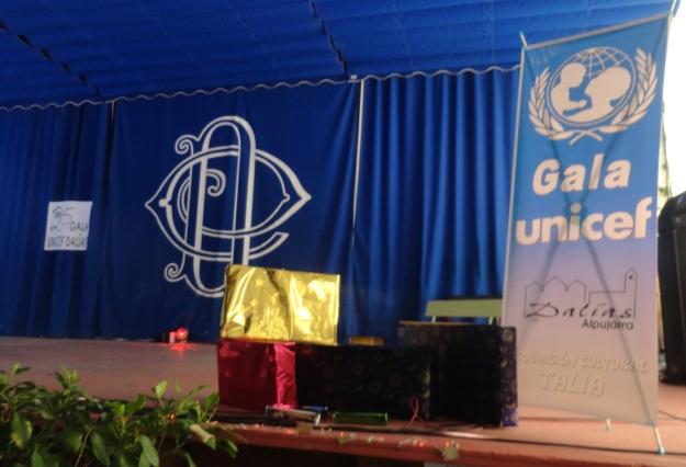 escenario de la gala