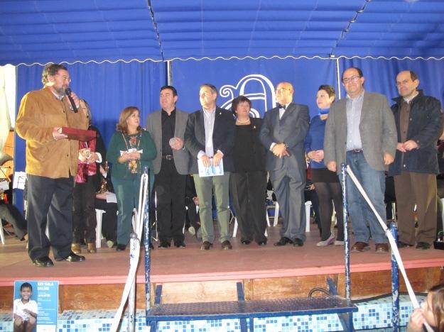 Responsables de Talia entregaron al presidente de Unicef los 1337 euros recaudados