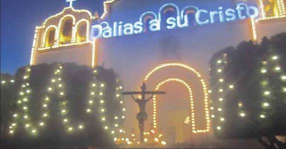 ■ El Santísimo Cristo de la Luz volverá a procesionar por las calles de Dalías el domingo día 20. /R. Villegas