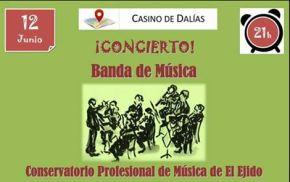 cartel banda musica conservatorio el ejido
