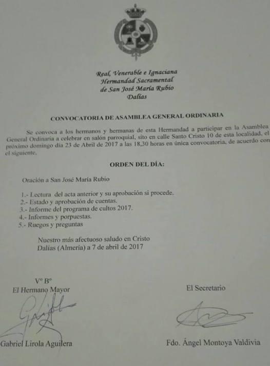 ConvocatoriaAsambleaHermandadPRubio17