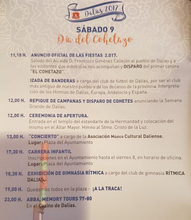 DÍA DEL COHETAZO 2017