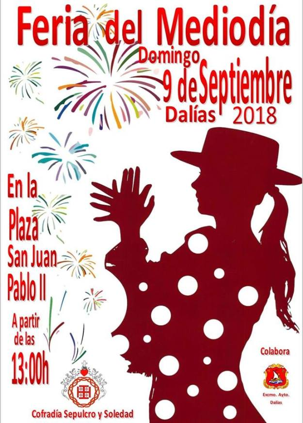 cartel mediodia cofradia fiestas 2018