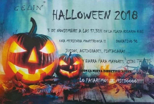 hallowen en celin 2018