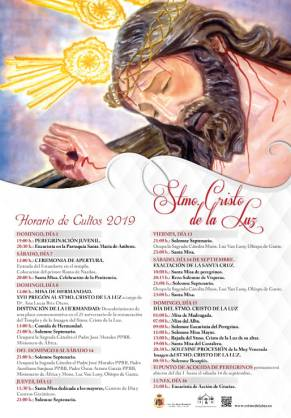 cartel hermandad cristo 2019